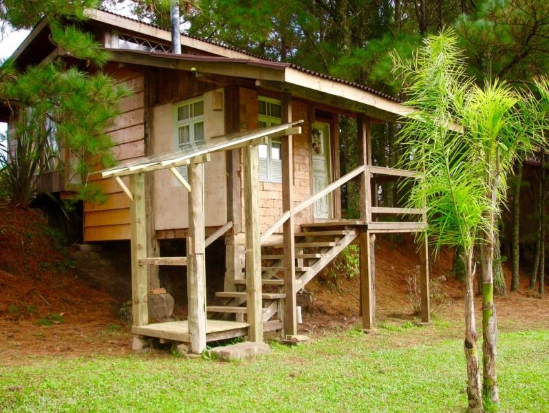 Cabana Gralha Azul - Quarto - Estalagem Santo Antônio - Pousada - Urubici - Santa Catarina - Serra Catarinense