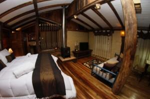 Cabana Curucaca - Visão geral da cabana - Estalam Santo Antônio - Pousada - Urubici - Santa Catarina - Serra Catarinense